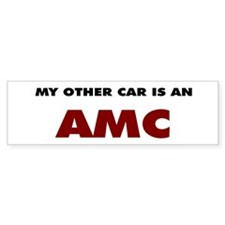 Other Car is an AMC Bumper Sticker