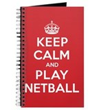 Netball a Journals & Spiral Notebooks