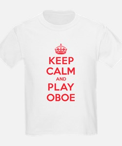 Keep Calm Play Oboe T-Shirt