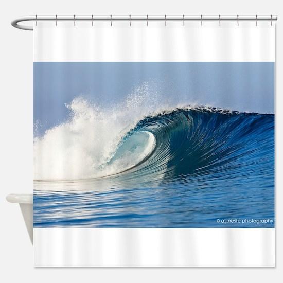 Cute Surf Shower Curtain