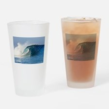 Unique Waves Drinking Glass
