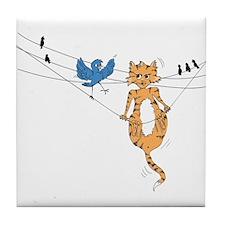 angry bird Tile Coaster