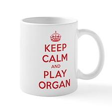 Keep Calm Play Organ Mug