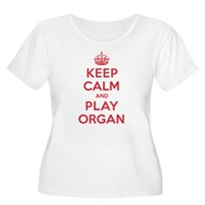 Keep Calm Play Organ T-Shirt