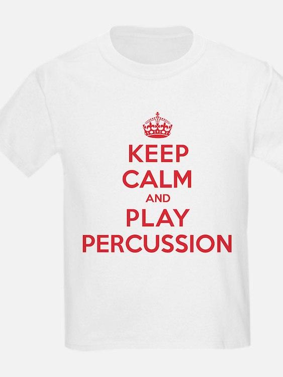 Keep Calm Play Percussion T-Shirt