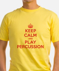 Keep Calm Play Percussion T