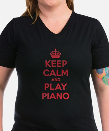 Keep Calm Play Piano Shirt