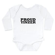 Cute Yinzer Long Sleeve Infant Bodysuit