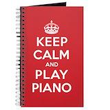 Piano Journals & Spiral Notebooks