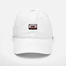 Cassette Black Baseball Baseball Cap