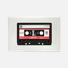 Cassette Black Rectangle Magnet (10 pack)