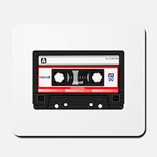 Cassette Black Mousepad