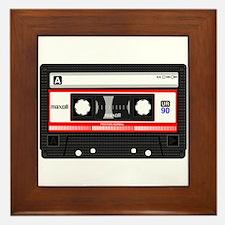 Cassette Black Framed Tile