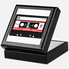 Cassette Black Keepsake Box