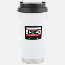 Cassette Black Travel Mug