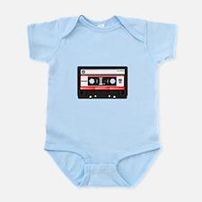 Cassette Black Infant Bodysuit