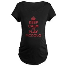 Keep Calm Play Piccolo T-Shirt