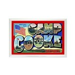 Camp Cooke California Rectangle Magnet (10 pack)