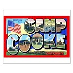 Camp Cooke California Small Poster