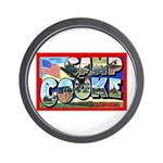 Camp Cooke California Wall Clock