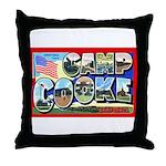 Camp Cooke California Throw Pillow