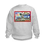 Camp Cooke California (Front) Kids Sweatshirt
