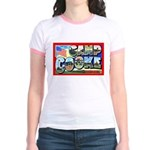 Camp Cooke California (Front) Jr. Ringer T-Shirt