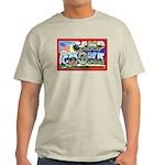 Camp Cooke California (Front) Ash Grey T-Shirt