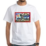 Camp Cooke California (Front) White T-Shirt