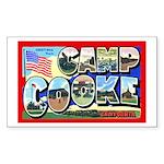 Camp Cooke California Rectangle Sticker
