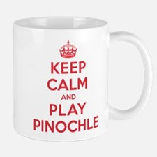Keep Calm Play Pinochle Mug