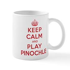 Keep Calm Play Pinochle Mug