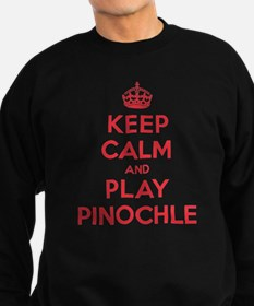 Keep Calm Play Pinochle Jumper Sweater