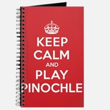 Keep Calm Play Pinochle Journal