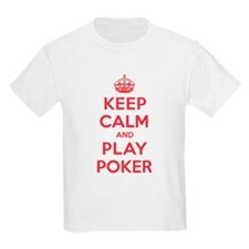Keep Calm Play Poker T-Shirt