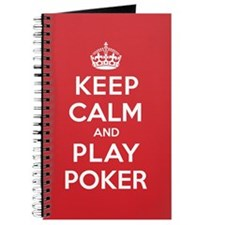 Keep Calm Play Poker Journal