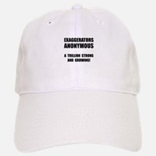 Exaggerators Anonymous Black Baseball Baseball Cap