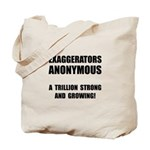 Exaggerators Anonymous Black Tote Bag