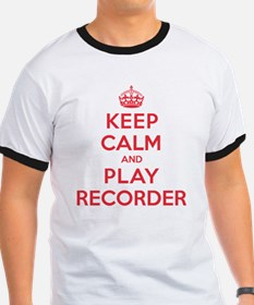 Keep Calm Play Recorder T