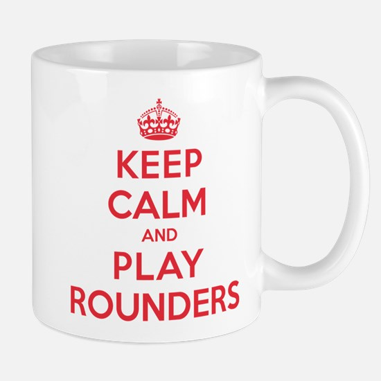 Keep Calm Play Rounders Mug