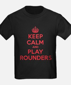 Keep Calm Play Rounders T