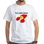 Terrycloth Lobster White Tshirt