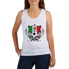 Mexico World Cup Soccer Women's Tank Top