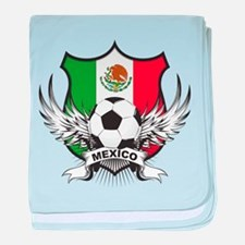 Mexico World Cup Soccer baby blanket