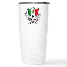 Mexico World Cup Soccer Travel Mug