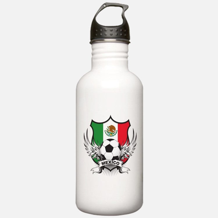 Mexico World Cup Soccer Water Bottle