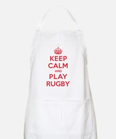 Keep Calm Play Rugby Apron