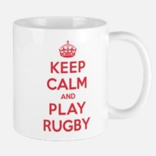 Keep Calm Play Rugby Mug