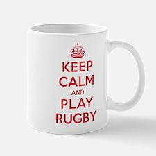 Keep Calm Play Rugby Small Small Mug