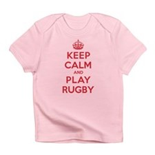 Keep Calm Play Rugby Infant T-Shirt